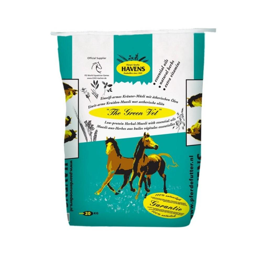 muesli paard zonder suiker
